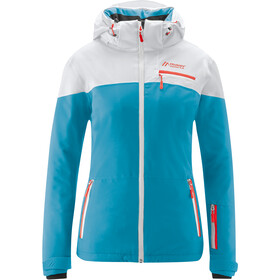 Maier Sports Coral Flash Jacket Women cyan blue